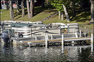 Pontoons available for rent