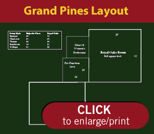 Grand Pines Resort's Conference Layout